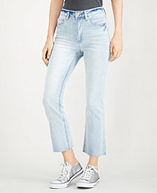 Dollhouse Juniors' Cropped Bootcut Jeans