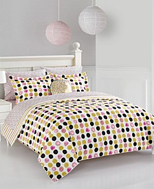Urban Living Spotted Dots Bedding Set - Full