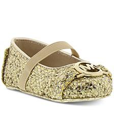 Baby Girls Giby Sparkle Slip-Ons
