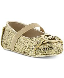 Michael Kors Baby Girls Giby Sparkle Slip-Ons