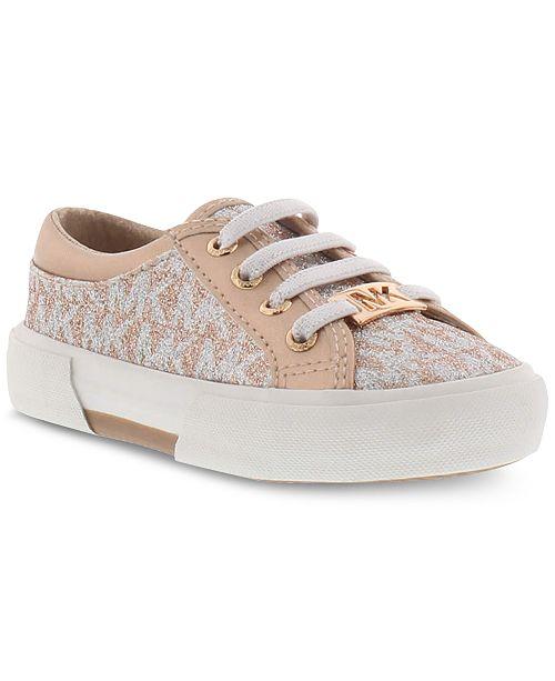 bb42fe6f53fb Michael Kors Toddler Girls Ima Tinsel Sneakers   Reviews - Kids ...