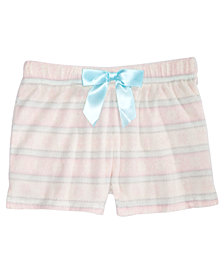Max & Olivia Big Girls Printed Sleep Shorts, Created for Macy's