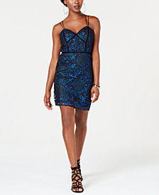 GUESS Adina Lace Bodycon Dress