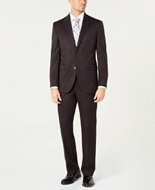 Dockers® Men's Classic-Fit Stretch Gray Solid Suit