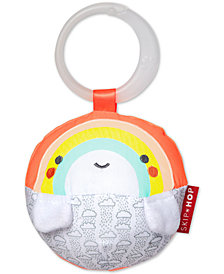 Skip Hop Silver Lining Cloud Rainbow Rattle Ball