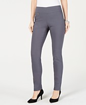 069c8ab9f8b3c8 Alfani Tummy-Control Pull-On Skinny Pants, Regular, Short, and Long