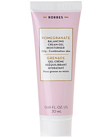Receive a Complimentary Pomegranate Moisturiser 20ml with any $55 Korres Purchase