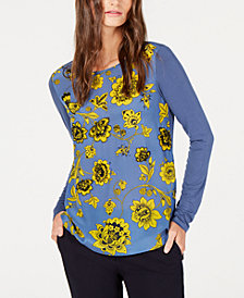 Weekend Max Mara Vanna Embellished Animal-Print Top