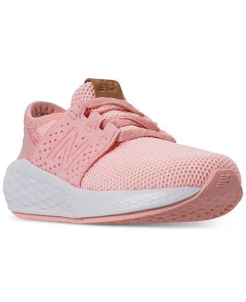 latest fashion great fit so cheap New Balance Toddler Girls' Fresh Foam Cruz V2 Running ...