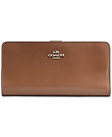 Skinny Wallet in Refined Leather