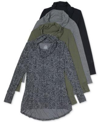 Softwear Stretch Cowl-Neck Tunic