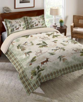 Woodland Forest King Comforter