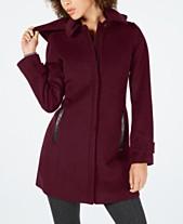 5506d7acfe09a Michael Kors Wool   Wool Blend Womens Coats - Macy s