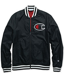 Champion Men's Satin Baseball Jacket