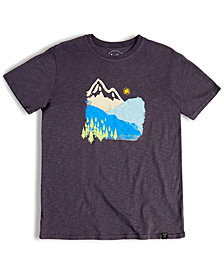 United by Blue Men's Mountain Ink Short-Sleeve Tee from Eastern Mountain Sports