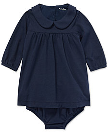 Polo Ralph Lauren Baby Girls Metallic Dress