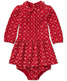 Polo Ralph Lauren Baby Girls Floral-Print Dress