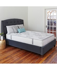 "Sleep Trends Rubi Queen 10.5"" Wrapped Coil Hybrid Firm Pillow Top Mattress"