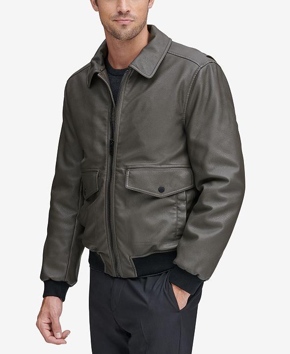 Marc New York Men's Faux-Leather Jacket