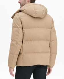 Cole Haan Men's Kenny Puffer Parka Jacket