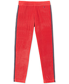 Tommy Hilfiger Big Girls Velour Jogger Pants