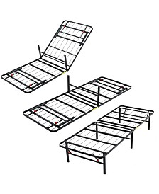 Sleep Trends Hercules Twin 14-Inch Platform Metal Bed Frame