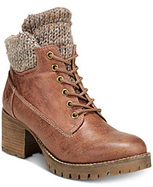 Carlos by Carlos Santana Glynn Lace-Up Booties