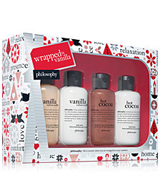 philosophy 4-Pc. Wrapped In Vanilla Shower Gel Holiday Gift Set