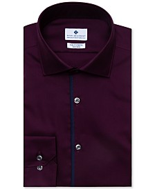 Ryan Seacrest Distinction™ Men's Evening Collection Ultimate Slim-Fit Non-Iron Performance Stretch Solid Dress Shirt, Created for Macy's