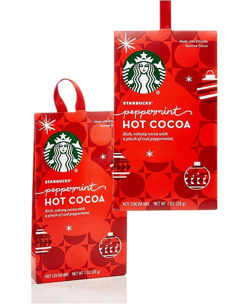 Starbucks Peppermint Ornaments