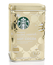 Starbucks Salted Caramel Cocoa Tin Canister