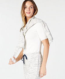 Charter Club Space-Dye Knit Jacket, Created for Macy's
