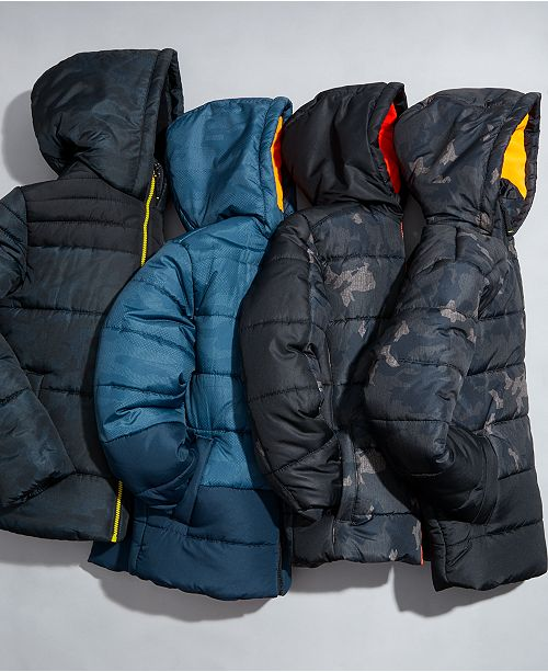 RM 1958 Big Boys Quilted Puffer Jackets
