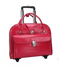 """Edgebrook 15"""" Wheeled Ladies Laptop Briefcase"""