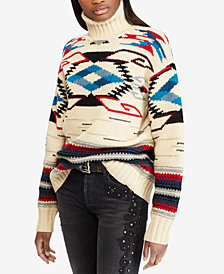 Polo Ralph Lauren Southwestern Turtleneck Sweater