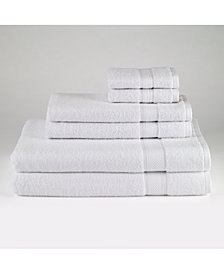 Avanti Splendor Cotton 6-Pc. Solid Towel Set