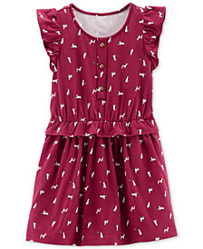 Carter's Toddler Girls Printed Dress