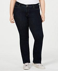 Trendy Plus Size 415 Classic Bootcut Jeans