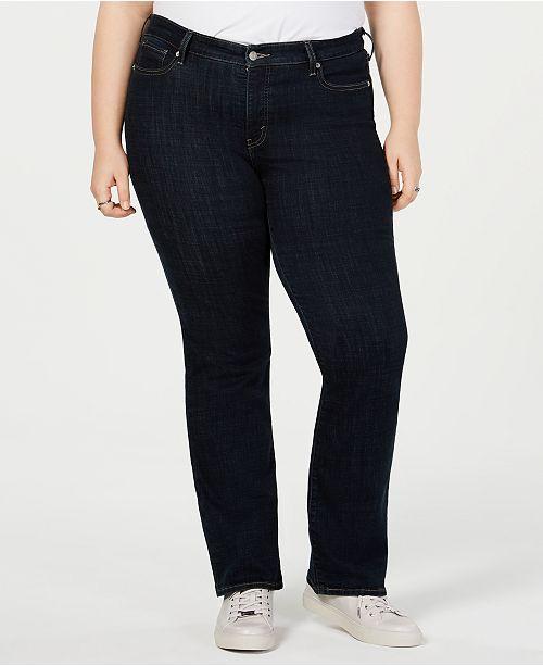 1f43cb42e4d0e Levi s Plus Size 415 Classic Stretch Bootcut Jeans  Levi s Plus Size 415  Classic Stretch Bootcut ...