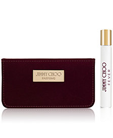 Receive a Complimentary 2-Pc. gift with any large spray purchase from the Jimmy Choo Women's fragrance collection