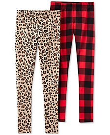 Carter's Little & Big Girls 2-Pk. Printed Leggings