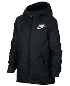 Nike Big Boys Sportswear Fleece Hooded Jacket