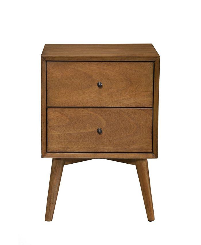 Alpine Furniture - Flynn Nightstand (Acorn)
