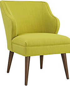 Modway Swell Upholstered Fabric Armchair