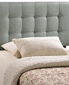 Mia Queen Fabric Bed