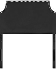 Laura Twin Upholstered Vinyl Headboard