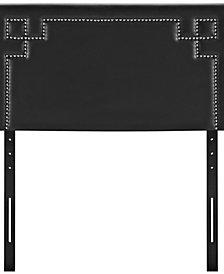 Josie Twin Upholstered Vinyl Headboard