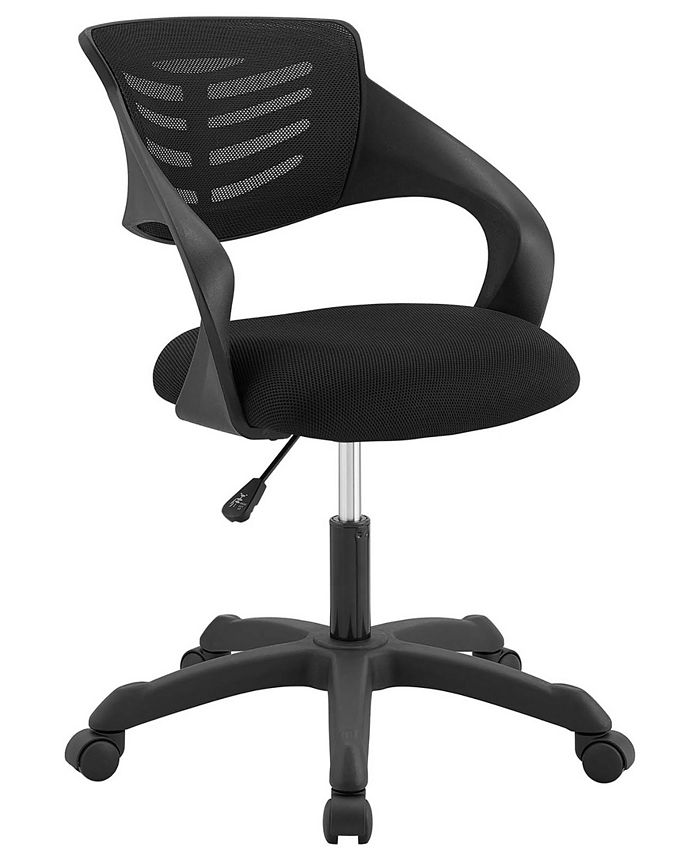Modway - Thrive Mesh Office Chair in Red