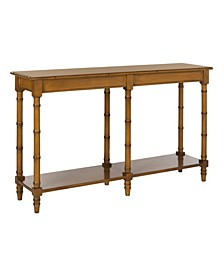 Noam Modern Coastal Bamboo Console Table