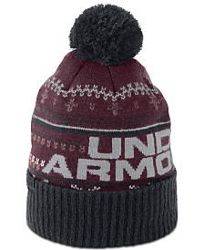 e2f81eace67 Under Armour Men s Logo Pom Pom Beanie